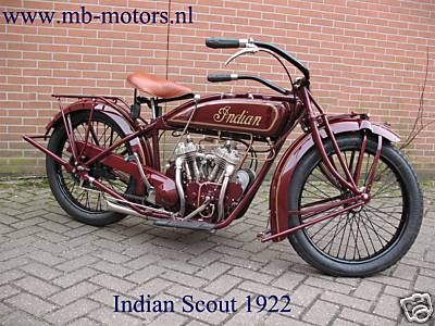 1922 Scout from right