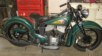 1940 green with 1939 fenders