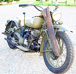 1941 US Army Scout motorcycle